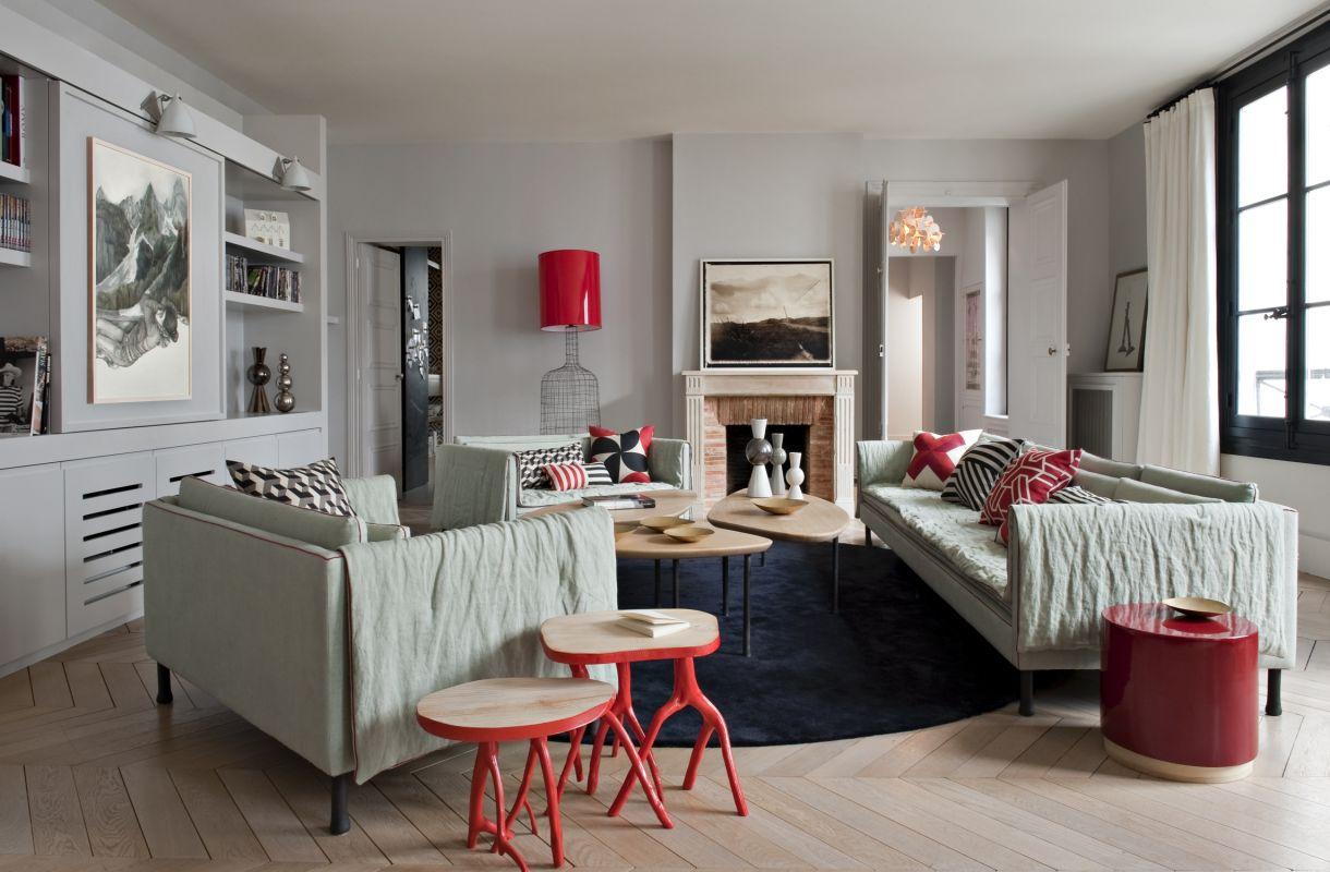 Appartamento a parigi 1 arrondissement louvre rivoli for Interni parigini