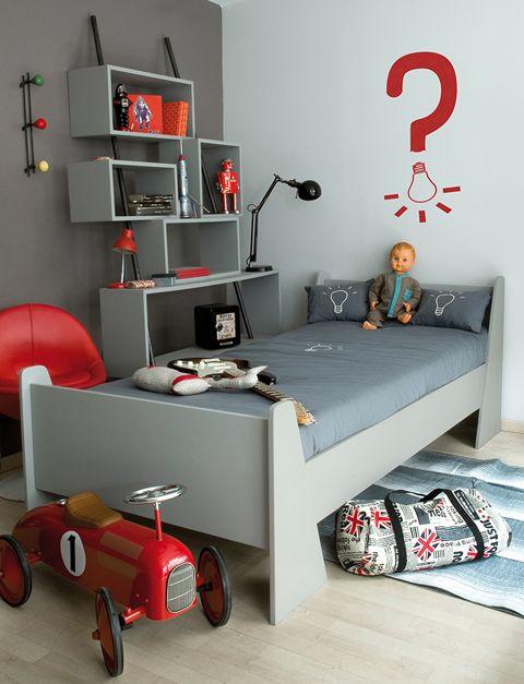3boys - Kids Room - La Chiase Bleue via Laurette