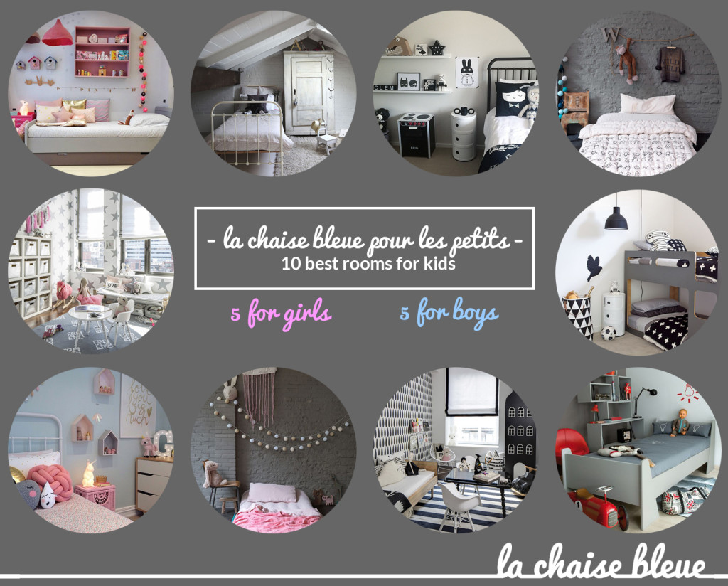 Rooms for kids selected by La Chaise Bleue