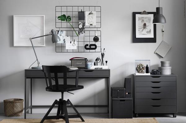 Un workspace tutto ikea for Lavette ikea a cosa servono