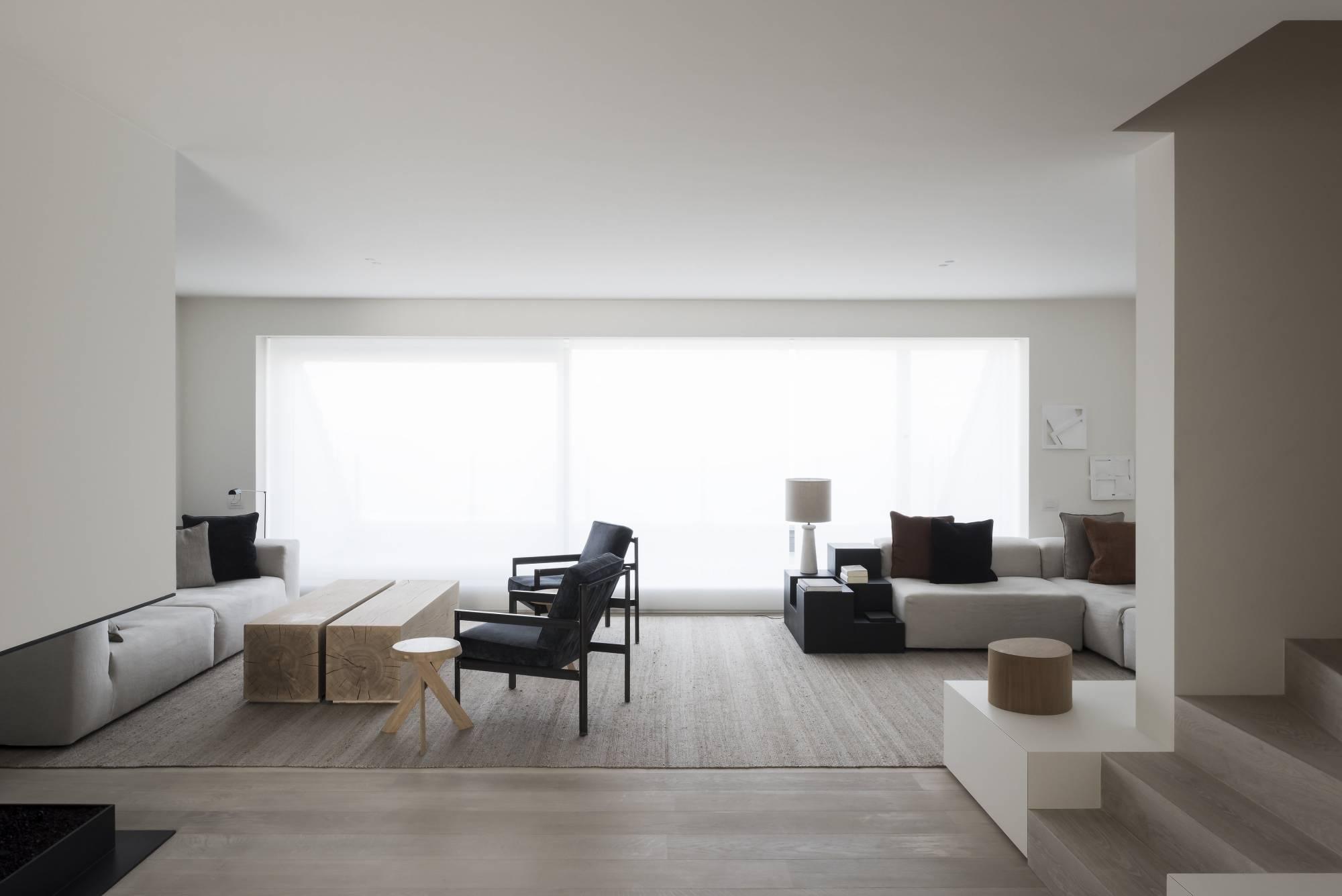 vincent van duysen drd apartment in knokke belgium. Black Bedroom Furniture Sets. Home Design Ideas