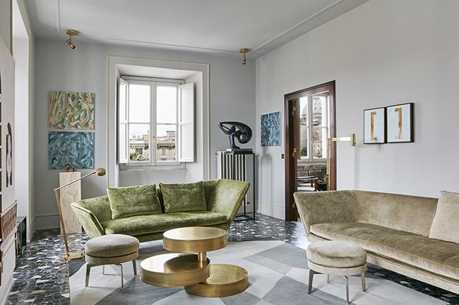 Casa catone di massimo adario architetto la chaise bleue - Architetto interni roma ...