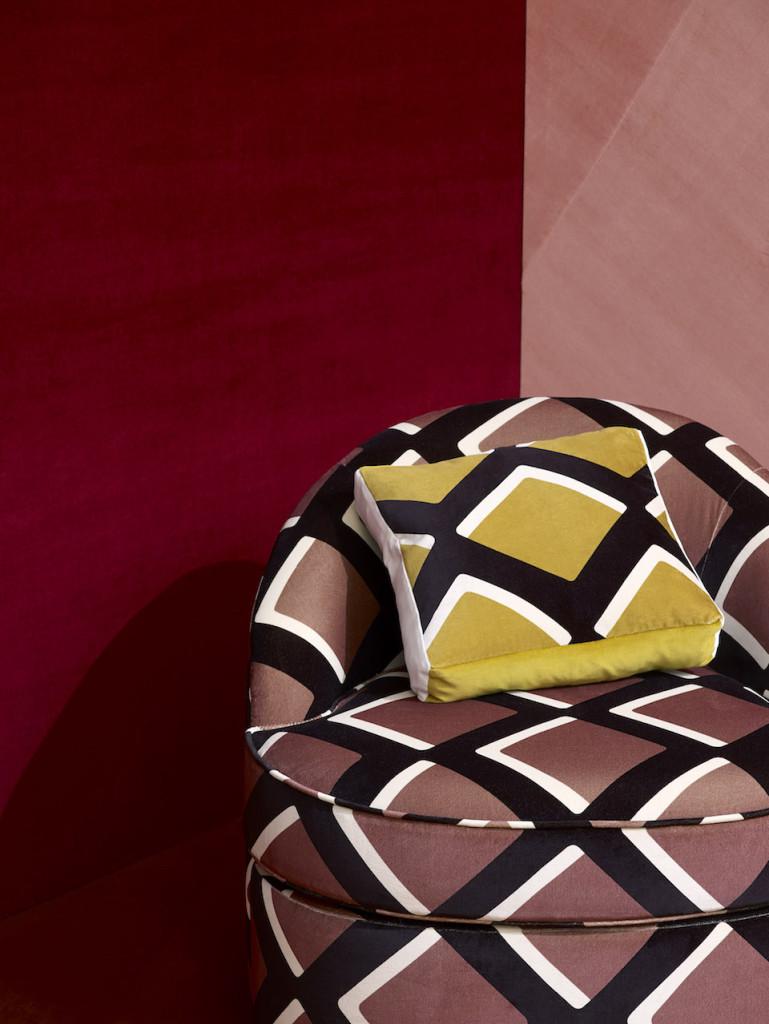 """True Velvet"" di India Mahdavi per Pierre Frey | Selected by La Chaise Bleue (lachaisebleue.com)"