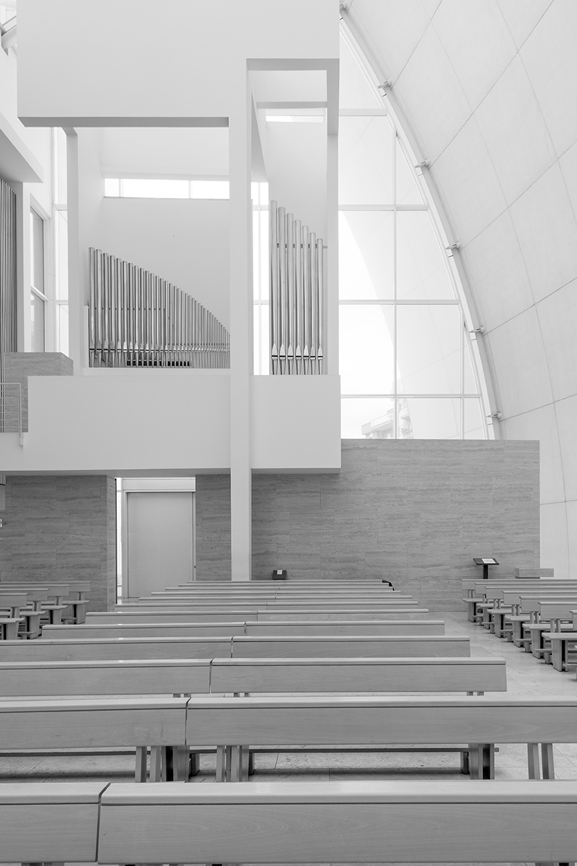 Dives in Misericordia, Roma | Richard Meier | Photography©Giulia Mandetta - LCB|PHOTO | Find more on lachaisebleue.com